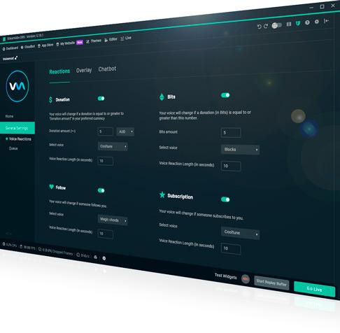 Voicemod Voice Changer Streamlabs plugin