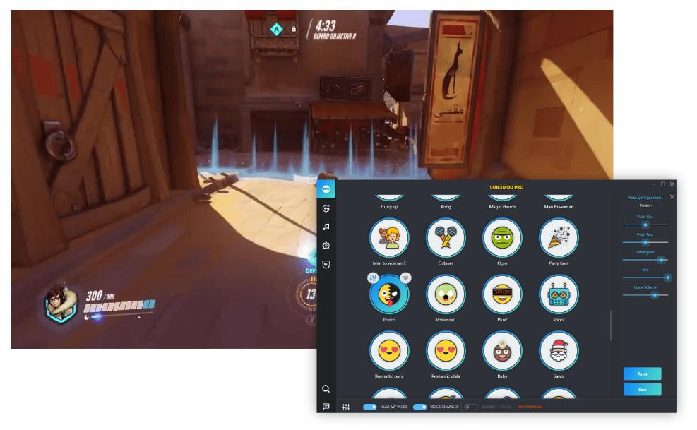 Overwatch Voice Changer & Soundboard - Voicemod