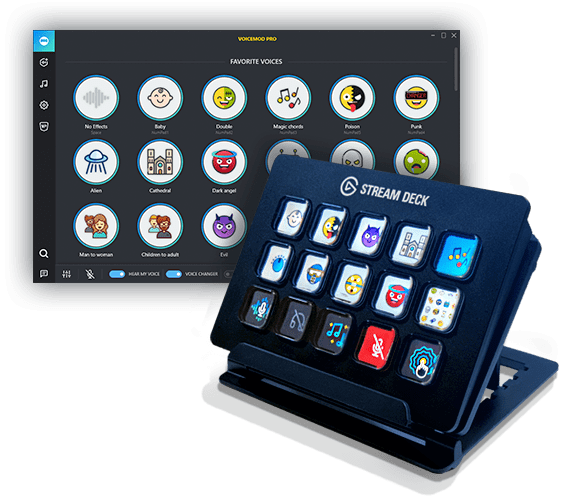 Stream Deck Voicemod