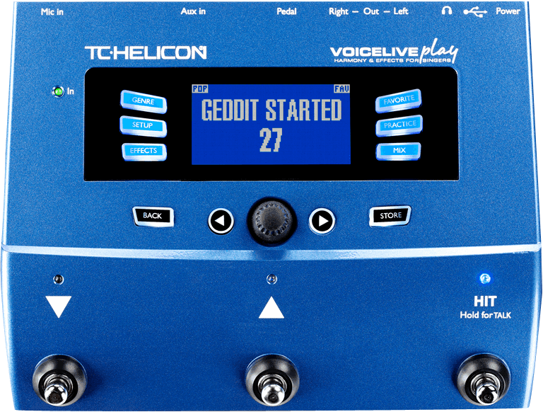 TC-Helicon Voice Live Play - Best in Class Vopice Changer