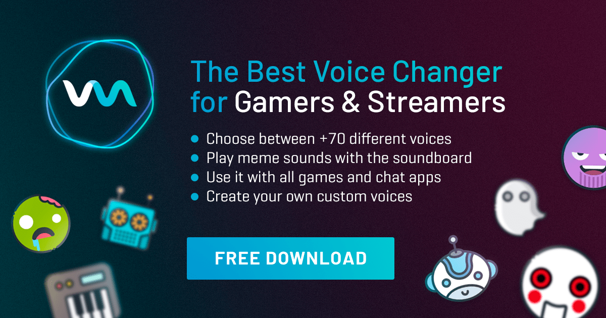 Voice Changers - Best FREE Software for PC - Voicemod