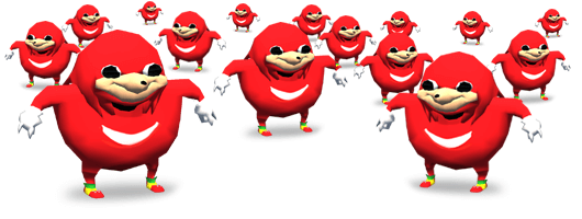 uganda knuckles in vrchat with voice changer
