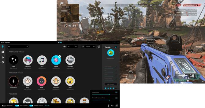 How to use Voicemod Voice Changer in Apex Legends