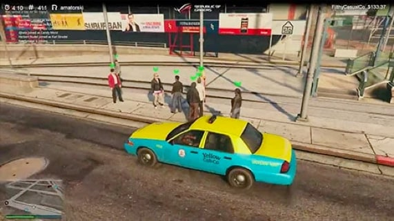 GTA V In-game
