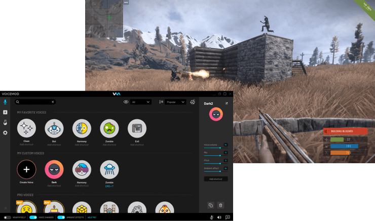How to use voice changer and soundboard on Rust